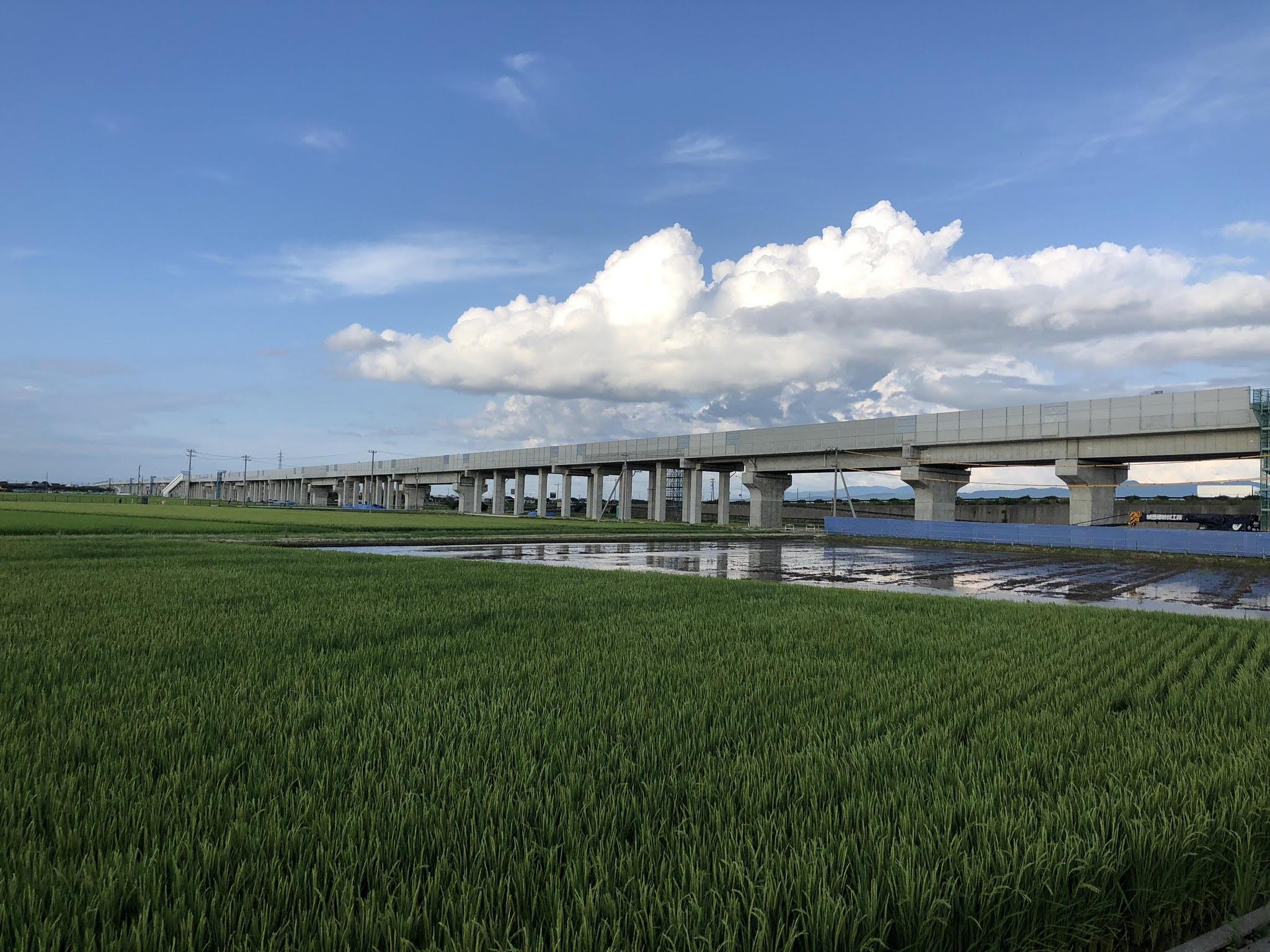 石川県能美市橋梁工事